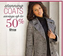 stunning coats savings up to 50%