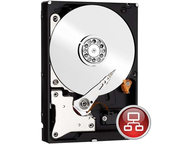 Western Digital Red NAS Hard Drive WD30EFRX 3TB IntelliPower 64MB Cache SATA 6.0Gb/s 3.5