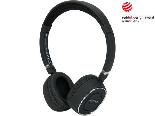 LUXA2 Black LHA0049-A BT-X3 Bluetooth Stereo Headphones