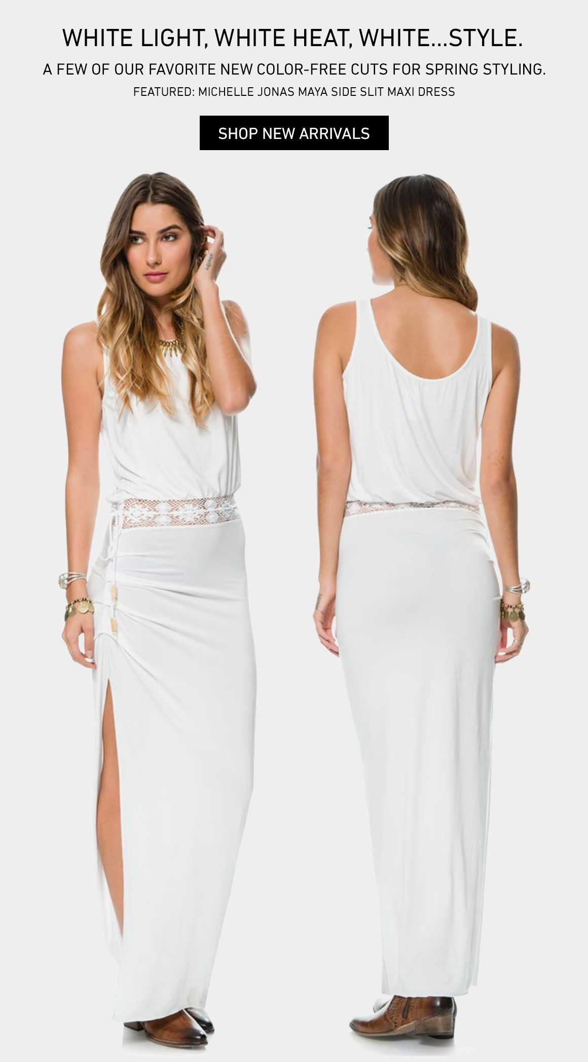 Bleach Babe: New Spring Whites