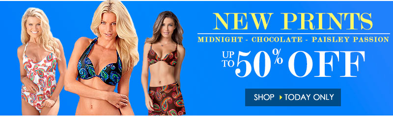 NEW PRINTS! Up to 50% OFF! SHOP NOW!