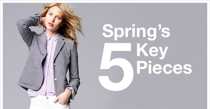 Spring's 5 Key Pieces
