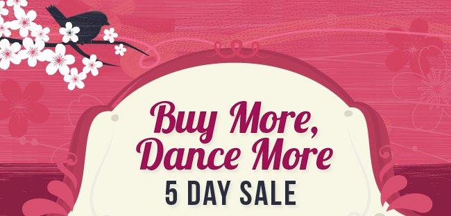 Buy More Dance More Sale