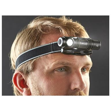 HQ Issue™ 150-lumen Angle Light with Head Strap