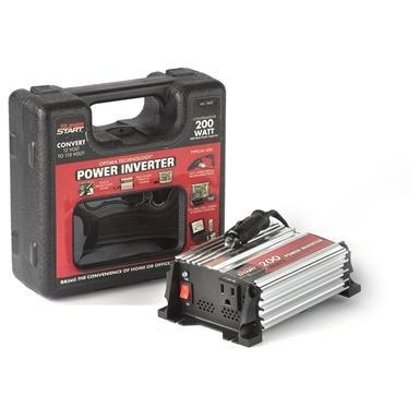SuperStart 200W 12V-to-110V Power Inverter