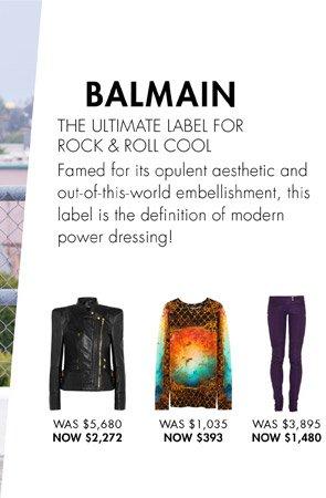 BALMAIN - SHOP NOW