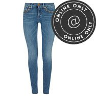 TRUE RELIGION - Chrissy mid-rise embellished skinny jeans