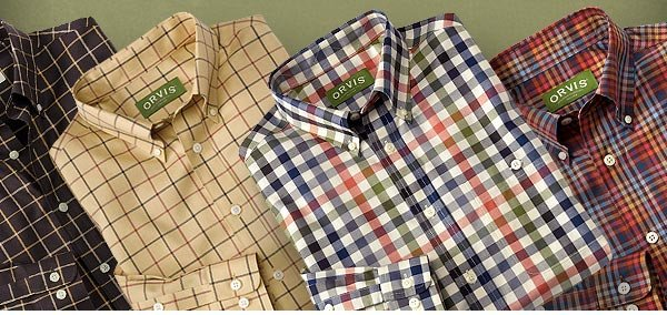 """So many casual shirts look the same, but the colors and iron-free material of this one make it really stand out. I received several compliments already and the material is truly wrinkle-free."" -orvis.com customer, Louisiana"