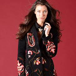 Paparazzi: Ladies Embroidered Jackets