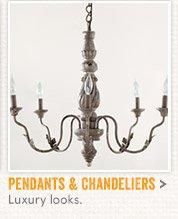 Shop Pendants & Chandeliers