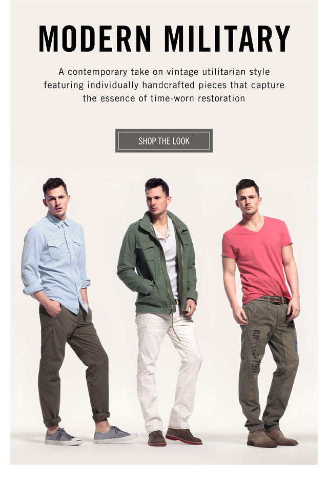 Modern Military - Shop The Look