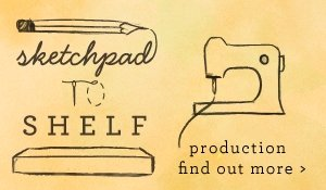 sketchpad to shelf: production