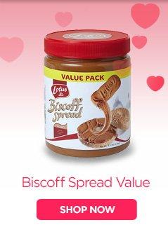 Biscoff Spread Value