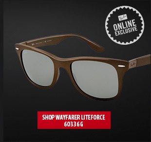 Wayfarer Liteforce Brown