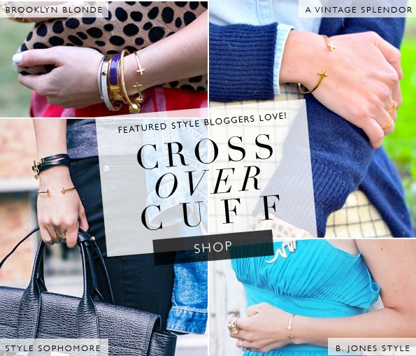 Styles We Love | Gorjana's Cross Over Cuff
