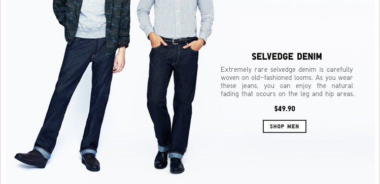 Men's Selvedge Jeans
