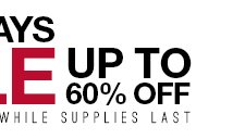Last Days Sale - Up to 60% off - Shop Now