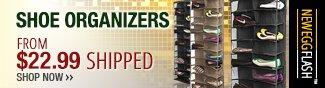 Newegg Flash - Shoe Organizers.