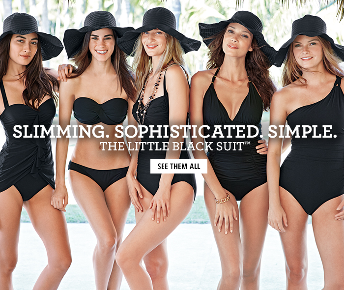 Slimming. Sophisticated. Simple | The LIttle Black Suit