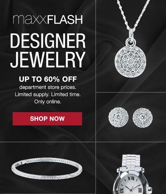 maxxflash: diamond jewelry. shop now >