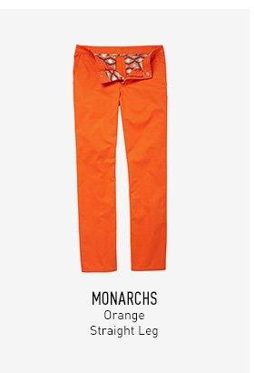 Orange Chinos