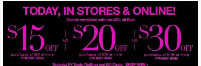 Save up to $30 with this coupon!