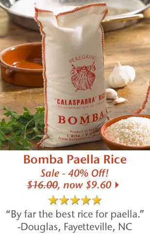5 Star Rated - Bomba Paella Rice - Sale - 40% Off - Was $16.00, Now $9.60