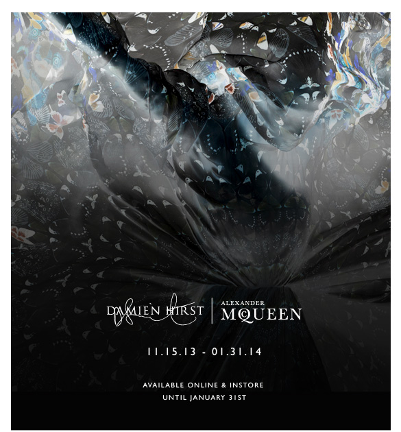 11.15.13 - 01.31.14 Damien Hirst & Alexander McQueen