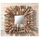 Natural Driftwood Wall Mirror