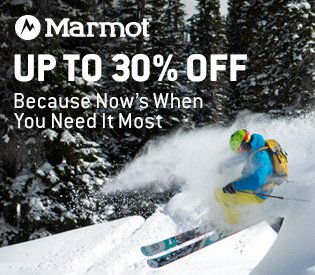 Up to 30% Off Marmot Clothing & Gear