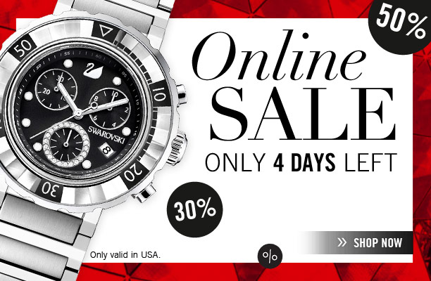 Online SALE - Only 4 days left