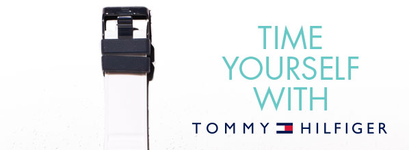 TIME YOURSELF WITH TOMMY HILFIGER