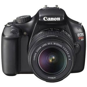 Adorama - Canon EOS Rebel T3 Digital SLR Camera With 2 Lens Kit - Canon EF-S 18-55mm IS II Lens, and Canon EF-S 55-250mm f/4-5.6 IS STM Lens