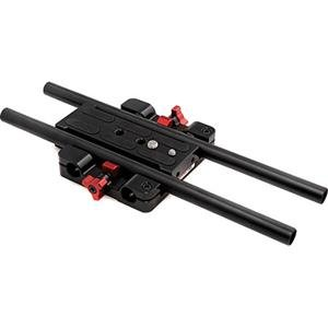 "Adorama - Zacuto Z-CSB Studio Baseplate with 12"" Rods for Canon C100, C300, C500"