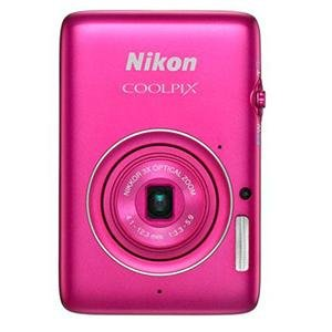 Adorama - Nikon Coolpix S02 14.1 Megapixel Digital Camera with 3x Optical Zoom, Ultra Compact, HD Movie (1080p), Pink