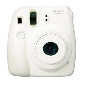 Adorama - FujiFilm Instax Mini 8 Camera, 1/60 sec Shutter Speed, 62x46mm Picture Size, White
