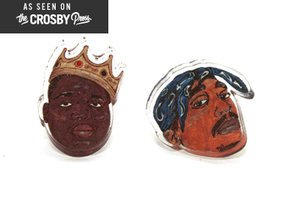 Shop Wear Biggie And Tupac's Faces On Your Sleeve