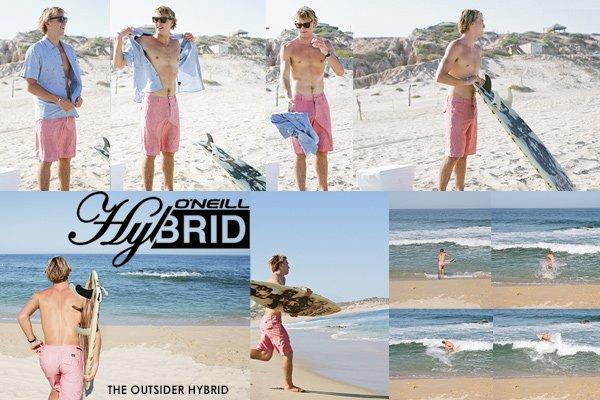 New O'Neill Men's Hybrid Shorts