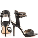 Ayda - Blk Snake Leather
