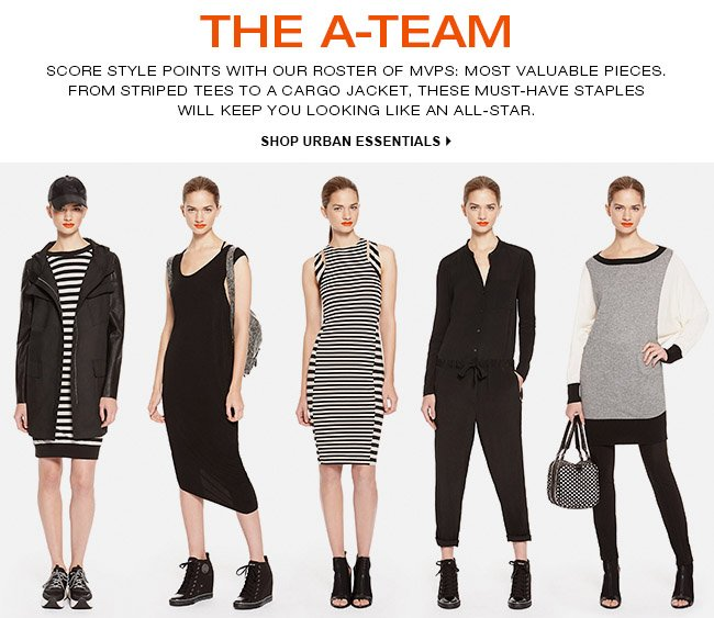 SHOP URBAN ESSENTIALS