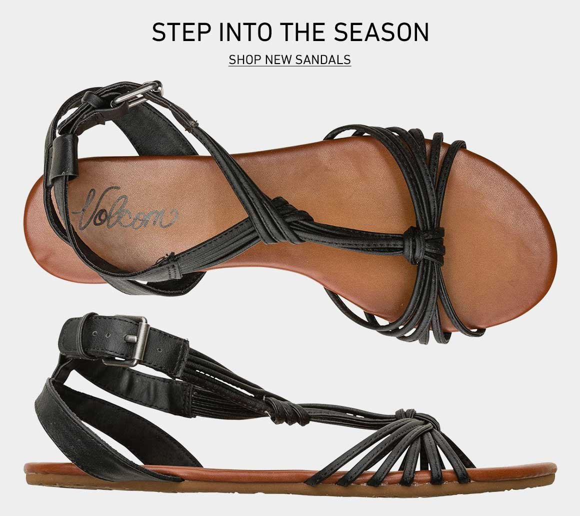Step Into The Season: Shop New Sandals