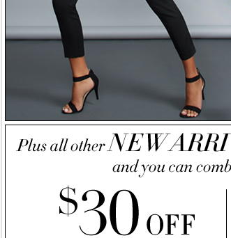$30 Off $100 or $20 Off $75 online only!