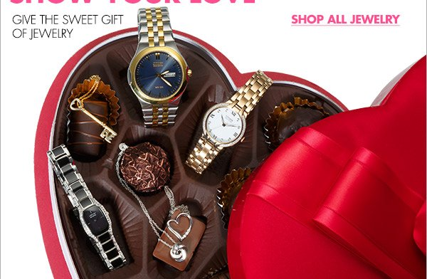 IT'S TIME TO SHOW YOUR LOVE GIVE THE SWEET GIFT OF JEWELRY SHOP ALL JEWELRY