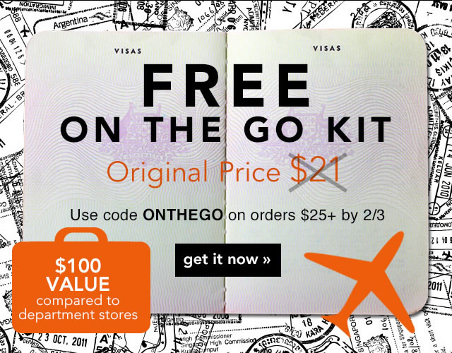 Frree On The Ggo Kit Use Code: ONTHEGO Get It Now!