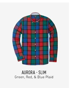 Aurora Plaid Shirt