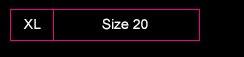 Sizes 20