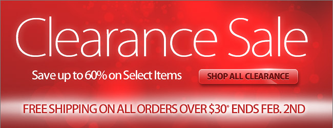 Shop Our Clearance Sale - Save Up To 60%