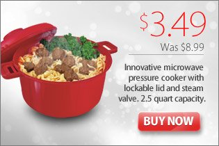 Red Microwave Cooker