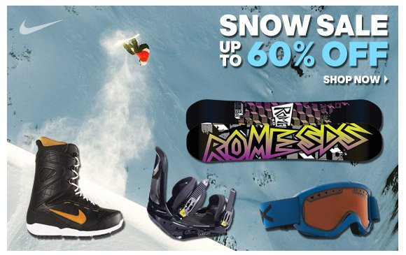 Snow Sale: Up To 60% Off!