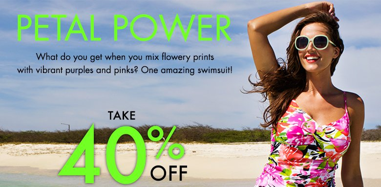 Petal Power - Take 40% OFF Sitewide